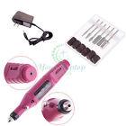 Nail Art Care Tips Electric Manicure Toenail Drill Buffing File Tool Pen Shape