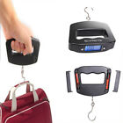 LCD Digital Electronic Portable Hanging Luggage Weight Hook Scale 50Kg/10g US OY