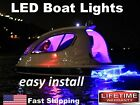 Exterior & Interior LED Boat Lights - 16ft long strip - Red Green Blue multi