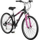 26 Schwinn Sidewinder Women's Mountain Bike, Matte Black/Pink