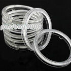 2x 60/70/80/90/100/110mm Clear Plastic Len Cover For LED COB Angel Eye Halo Ring