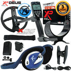 """XP Deus Metal Detector with FX-02 Wired Backphone, Remote and 9"""" X35 Search Coil"""