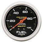 AutoMeter 5412 Pro-Comp Liquid-Filled Mechanical Fuel Pressure Gauge
