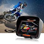"4.3"" Touch Screen Waterproof Bluetooth Motorcycle 8GB GPS 256 RAM Navigator+Map"