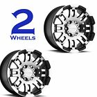 TWO Aluminum Trailer RIMs WHEELs Vision Warrior 15x6 6/5.5 375VT5683GBMF0