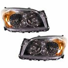 New Headlights Lamps Set of 2 Driver & Passenger Side TO2503206, TO2502206 Pair