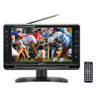 """Supersonic 9"""" Portable Rechargeable LCD Digital TV Remote AC/DC USB AVI Player"""