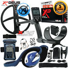 """XP Deus Metal Detector with Wired Backphone, Remote, 11"""" Coil and Waterproof Kit"""