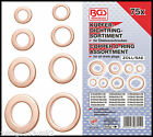 BGS - SAE/Imperial - Copper Washer/Sealing Ring Set - 75 Pcs Drain Plugs - 8144