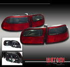 92-95 HONDA CIVIC 3DR JDM ALTEZZA TAIL LIGHTS RED/SMOKE