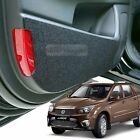 Felt Door Shield Cover Scratch Kick Protector for SSANGYONG 14-16 Actyon Sports