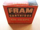 Vintage Fram CH105PL Cannister / Cartridge Type Oil Filter