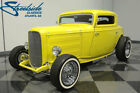 Ford 3 Window Coupe  OLD SCHOOL, PRO-BUILT STREETROD, FORD POWER 289 V8, C4, FRNT DISC, CUSTOM '32!!