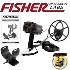 """Fisher 1280X Metal Detector with 10"""" Concentric Search Coil and 5 Year Warranty"""