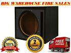 "Absolute USA 12"" Single Slot Ported Vented Subwoofer Enclosure Boombox PSEB12BK"