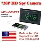 [100% COVERT] SecureGuard HD 720p USB Charger & Clock Radio Spy Camera Cover