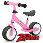 BALANCE BIKE FOR TODDLERS & KIDS 2-4 YEARS - BIKES WITH WIDE WHEELS - PINK