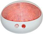 LED Cabin Light Hi Power Dual Red White with Switch & Dimmer 300 Lumen 7 Watt