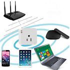 WiFi Wireless Smart Home Power Socket Cell Phone Remote Control Repeater Plug US