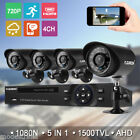 4Ch CHANNEL AHD 1080N CCTV DVR Video Recorder 720P CCTV Security Camera System