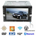 """6.2"""" Double 2Din Car Stereo Radio DVD CD mp3 Player Bluetooth"""