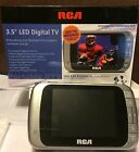 "RCA 3.5"" LED COLOR DIGITAL PORTABLE TV DHT235C , DTV"