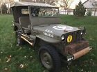 1952 Willys M38  Willys M38 - MB clone 1952