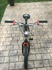 VINTAGE Haro Revo H10 Straight Shooter BMX Bike, Black/Red, 18 Inch Wheels