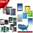 Apple iPad Air 12 9 7in,mini,2,3,4 AT&T,T-Mobile,Sprint,Verizon Wifi Pro Refurb