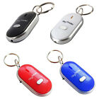 RED Whistle KEY FINDER Flashing Light Beeping Lost Keys Locator Key Chain NEW