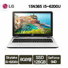 LG 15N365-5WIN7 15.6in Core i5-6200U FHD 1920x1080 4GB RAM 128GB SSD 500GB HDD