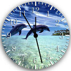 "Dolphins wall Clock 10"" will be nice Gift and Room wall Decor Z71"