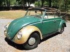 1966 Volkswagen Beetle - Classic 2 Door 1966 Volkswagen Convertible VW Beetle Bug Barn Garage Find Project NO RESERVE
