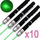 10pc Pet Toy Powerful Green Laser Pointer Pen 5mw 532nm High Power Laser Pen