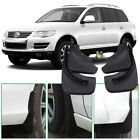 For VW Touareg 4pcs High Quality ABS Mud Flaps Splash Guards Fender Mudguard