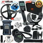 "XP Deus Metal Detector w/ Headphones, Remote, 9"" Coil, Case & Waterproof Kit"