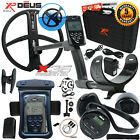"XP Deus Metal Detector w/ Headphones, Remote, Case, 11"" Coil & Waterproof Kit"