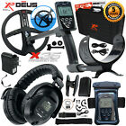 "XP Deus Metal Detector w/ Full Headphone, Remote, Case, 9"" Coil & Waterproof Kit"