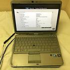 "Lot of 2 HP EliteBook 2740p 12.1"" Tablet/Laptop Intel Core i5 1st gen for Parts"