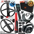 XP Deus Metal Detector w/ MI-6 Pinpointer, Headphones, Remote and 2 X35 Coils
