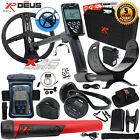 XP Deus Metal Detector w/ MI-6 Pinpointer, Headphones, Remote, X35 Coil & more