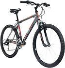 "Nishiki Adult Pueblo Mountain Bike 22"", Made Of Hi Tens. Steel (GREY/RED) (New)"