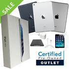 Apple iPad 2, 3 or 4 | 16GB,32GB,64GB or 128GB | Black or White Wi-Fi Tablet