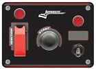 Longacre 44866 Start Ignition Panel with Accessory Switch and Light #1751