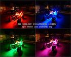 18 Color Wireless Led Kit Raptor 700R Quad 4 Wheeler 8pc Under Body Led Glow Kit