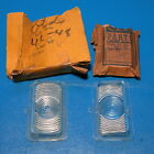 NOS Pair Parking Lenses GM 5935923 1946 1947 1948 Olds 76 88 Except 98