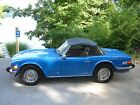 1976 Triumph TR-6 Roadster 1976 Triumph TR6--Incredibly beautiful, last year of production! FabTahiti Blue!