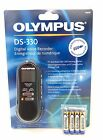 Olympus DS-330 Digital Voice Recorder Player USB Docking for PC Download. New!