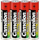 Set of 4 batteries/battery Camélion Alkaline Plus AAA LR03 under cello