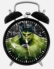 "Hulk Super Hero Alarm Desk Clock 3.75"" Room Decor E78 Nice for Gifts, A+ Quality"